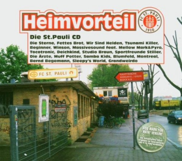 Only one free item can be redeemed per order! Heimvorteil - Die St. Pauli CD Digipack 2004 Tocotronic DIE ÄRZTE Deichkind