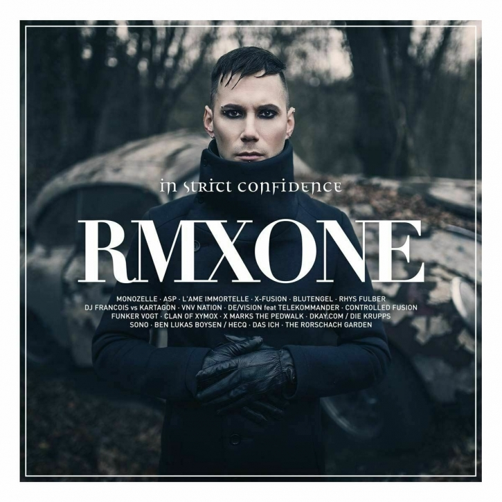 IN STRICT CONFIDENCE RMXONE LIMITED 2CD Digipack 2019 (ASP Blutengel VNV NATION)