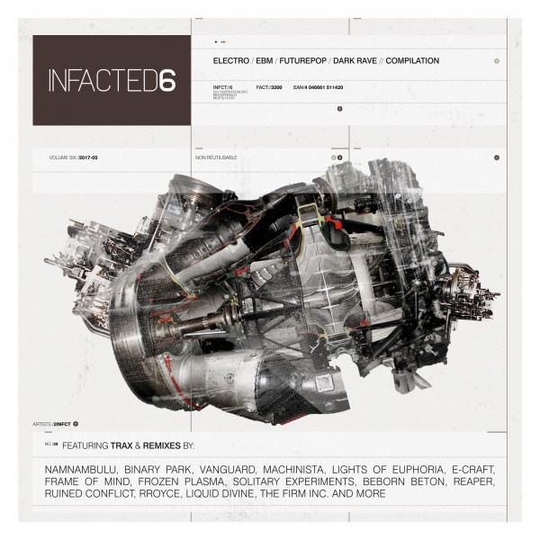 INFACTED COMPILATION VOL.6 CD LTD.1000 E-Craft FROZEN PLASMA NamNamBulu