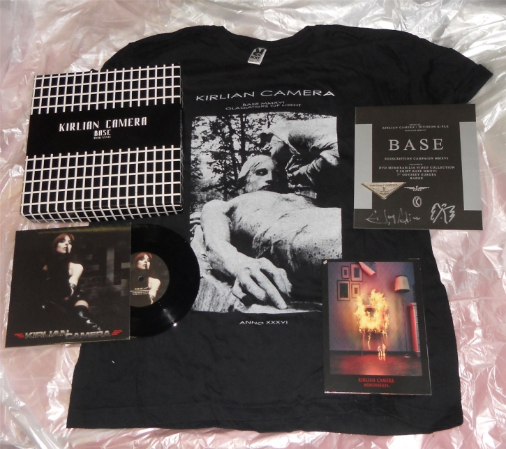 KIRLIAN CAMERA Base Box LIMITED BOXSET 2015