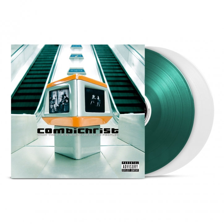 COMBICHRIST What The F**k Is Wrong... LIMITED 2LP COLOURED VINYL 2019