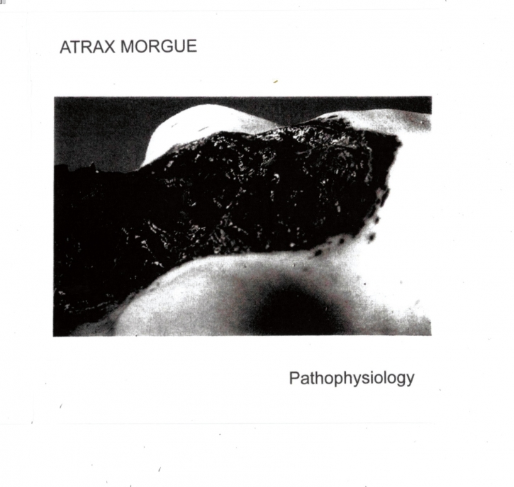 ATRAX MORGUE Pathophysiology CD Digipack 2019