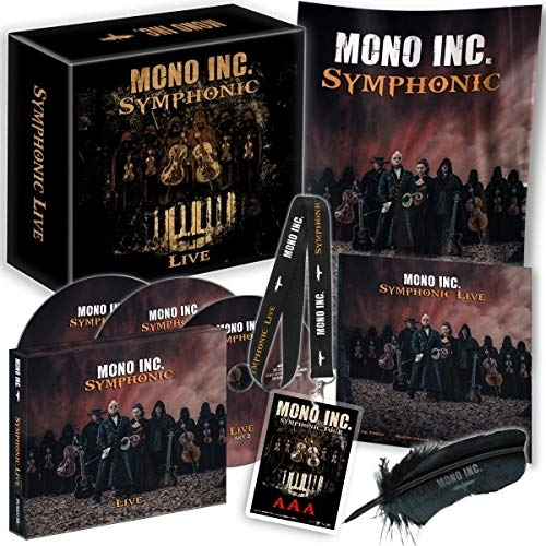 MONO INC. Symphonic Live FANBOX 2019 LTD.1200 (VÖ 24.05)