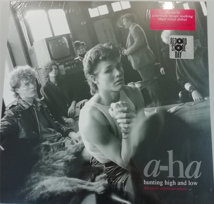 A-HA Hunting High And Low (The Early Alternate Mixes) LP VINYL LTD.6000 RSD 2019