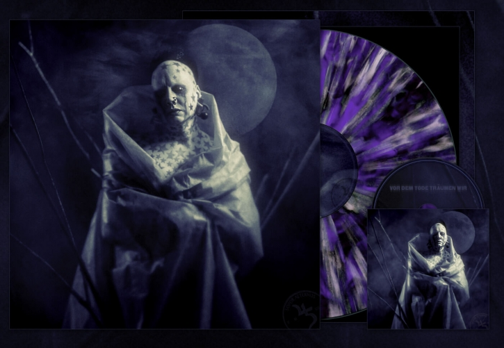"SOPOR AETERNUS Vor dem Tode träumen wir 12"" SPLATTER VINYL+CD 2019 LTD.500"