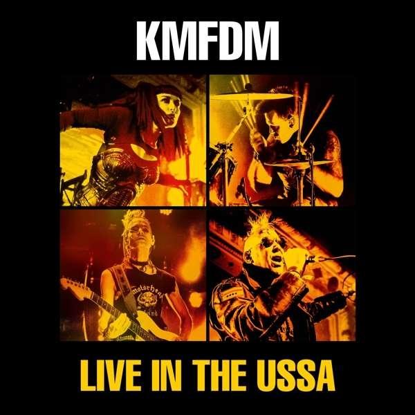 KMFDM Live In The USSA CD Digipack 2018