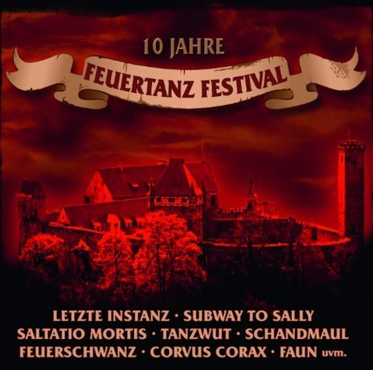 Only one free item can be redeemed per order! 10 JAHRE FEUERTANZ FESTIVAL CD 2010 Omnia FAUN Saltatio Mortis FEUERSCHWANZ