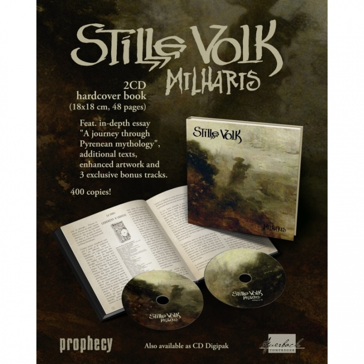 STILLE VOLK Milharis 2CD+BUCH 2019 LTD.400