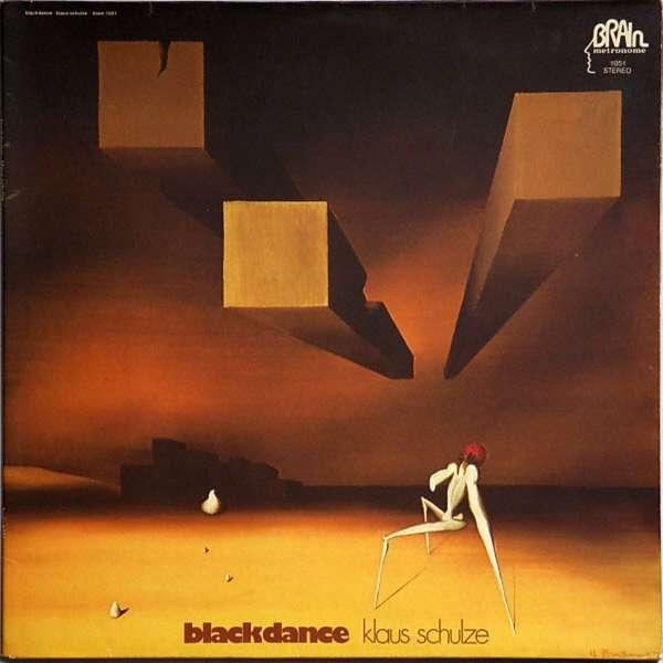 KLAUS SCHULZE Blackdance (remastered 2017) LP VINYL 2017