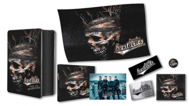 LOCAL BASTARDS Krone Der Schöpfung CD BOXSET 2019 LTD.350 (VÖ 14.06)