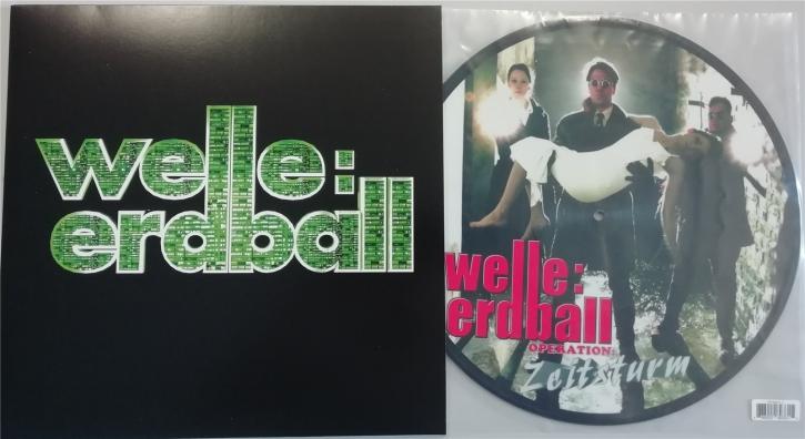 WELLE ERDBALL Operation Zeitsturm LP PICTURE VINYL + T-SHIRT 2019 LTD.500