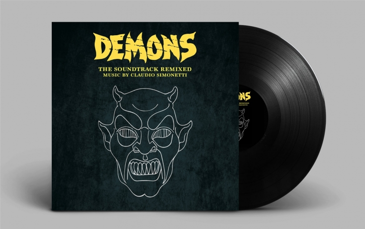 CLAUDIO SIMONETTI Demons [1] The Soundtrack Remixed LP VINYL 2019 LTD.499