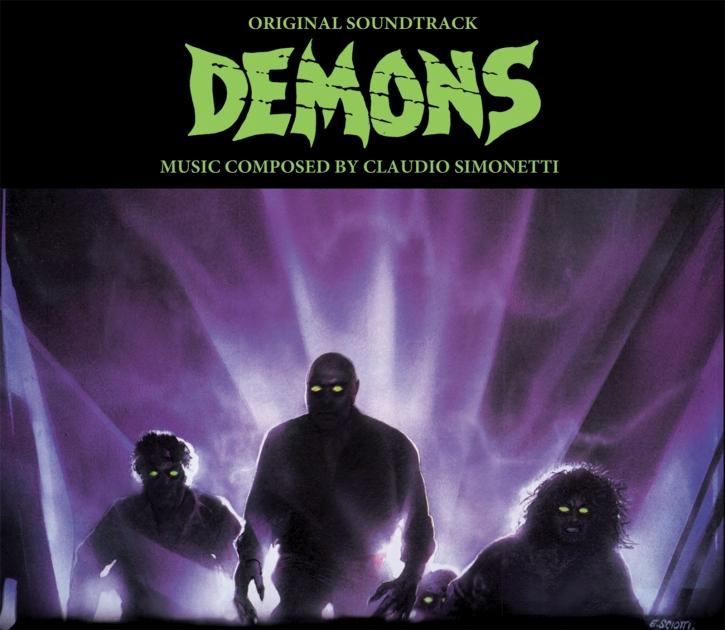 CLAUDIO SIMONETTI Demons [1] Original Soundtrack & Remixed 2CD Digipack 2019