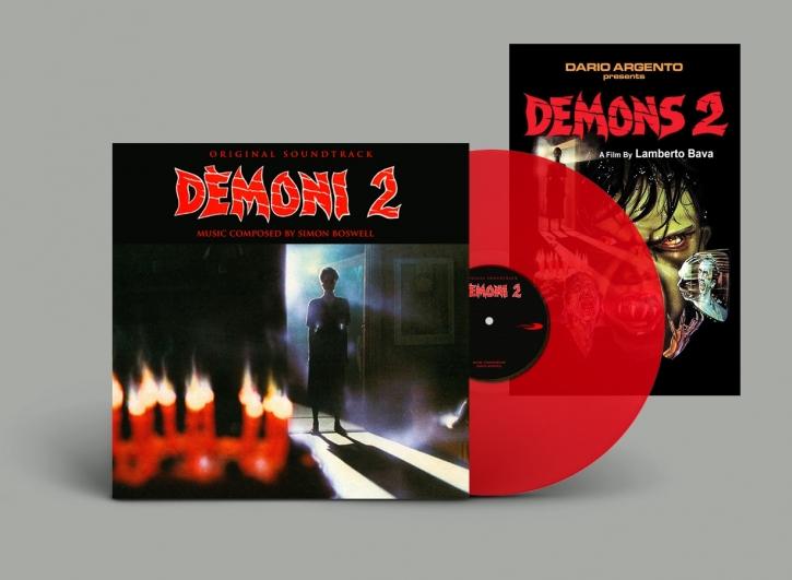 SIMON BOSWELL Demons [2] Original Soundtrack LP RED VINYL 2019 LTD.200