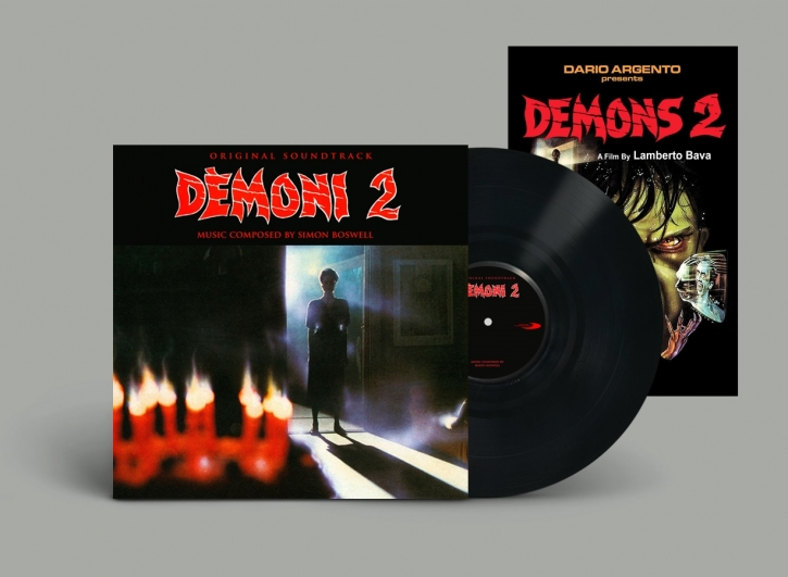 SIMON BOSWELL Demons [2] Original Soundtrack LP BLACK VINYL 2019 LTD.200