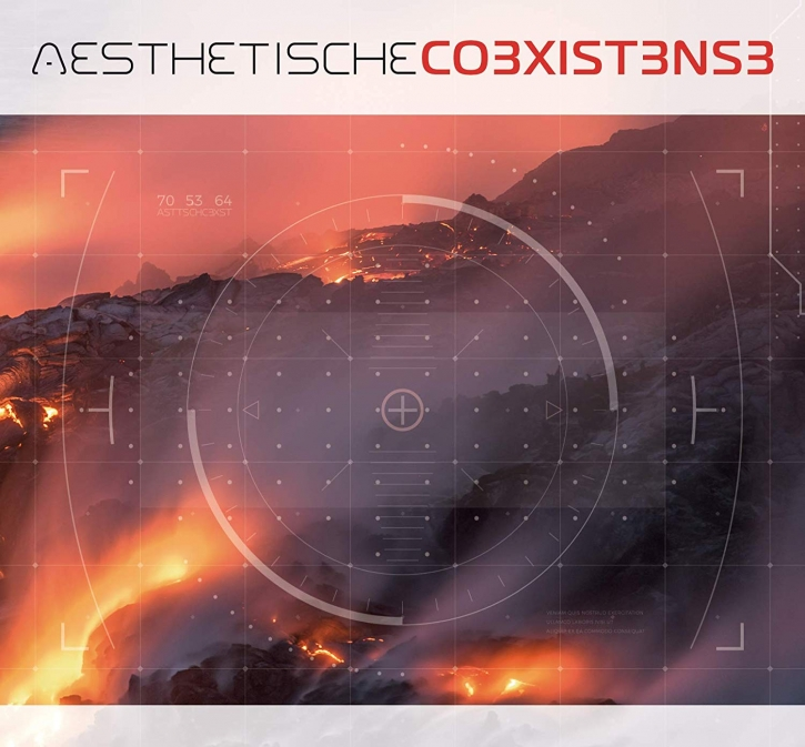 AESTHETISCHE Co3xist3ns3 LIMITED 2CD Digipack 2019