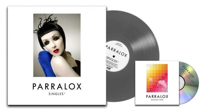 PARRALOX Singles 1 LIMITED LP GREY VINYL + BONUS CD 2019
