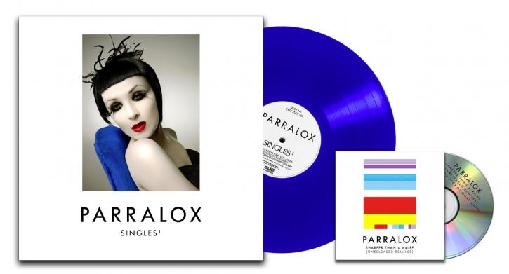 PARRALOX Singles 1 LIMITED LP BLUE VINYL + BONUS CD 2019