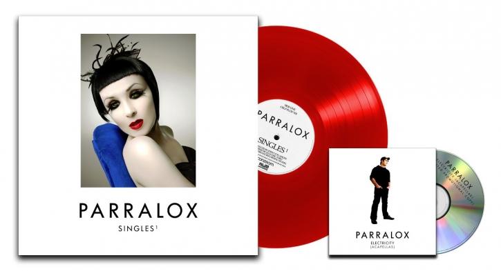PARRALOX Singles 1 LIMITED LP RED VINYL + BONUS CD 2019