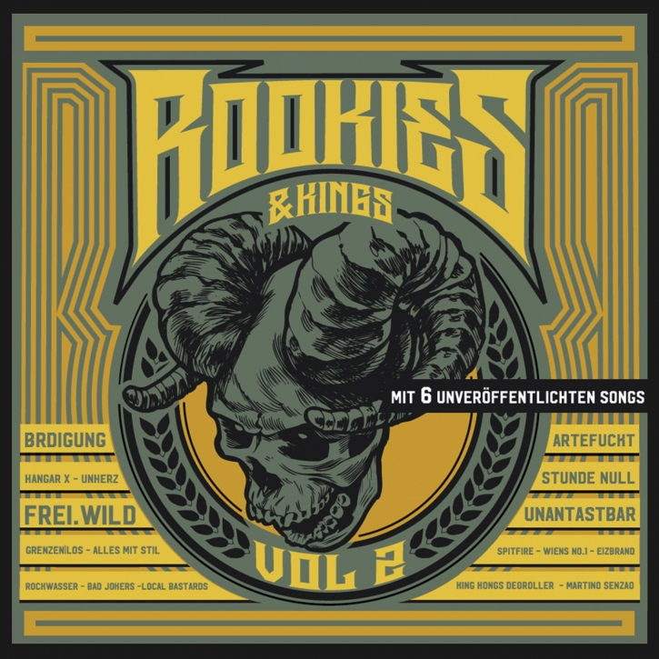 ROOKIES & KINGS VOL.2 CD Digipack 2019 FREI.WILD Artefuckt UNANTASTBAR