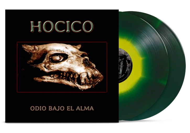 HOCICO Odio Bajo El Alma LIMITED Gatefold/Colored 2LP VINYL 2019