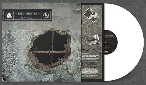 KILL SHELTER Damage LP WHITE VINYL 2019 LTD.500