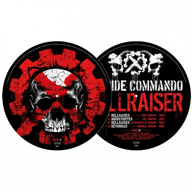 SUICIDE COMMANDO Hellraiser LIMITED PICTURE VINYL 2019 (VÖ 09.08)