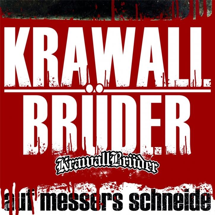 KRAWALLBRÜDER Auf Messers Schneide LIMITED GATEFOLD TRANSPARENT VINYL 2019