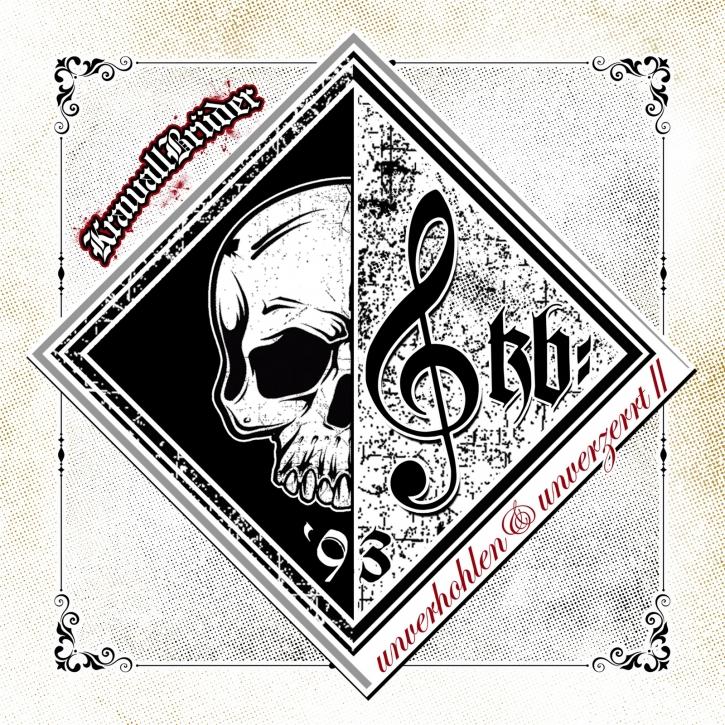 KRAWALLBRÜDER Unverhohlen & Unverzerrt II LP WHITE VINYL 2019 (VÖ 30.08)