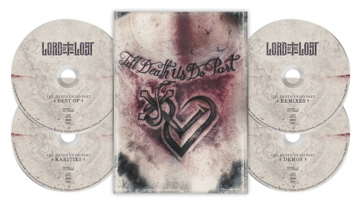 LORD OF THE LOST Till Death Us Do Part 4CD A5 Digipack 2019 LTD.1000 (VÖ 09.08)