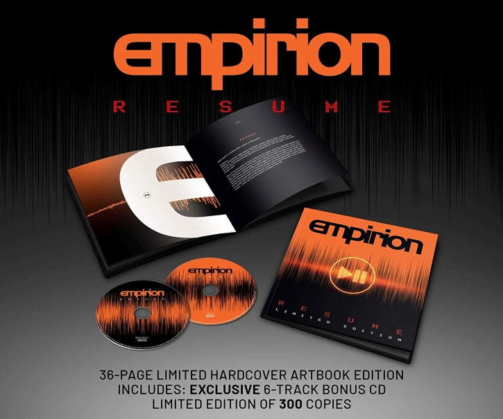 EMPIRION Resume 2CD+BUCH 2019 LTD.300 (VÖ 23.08)