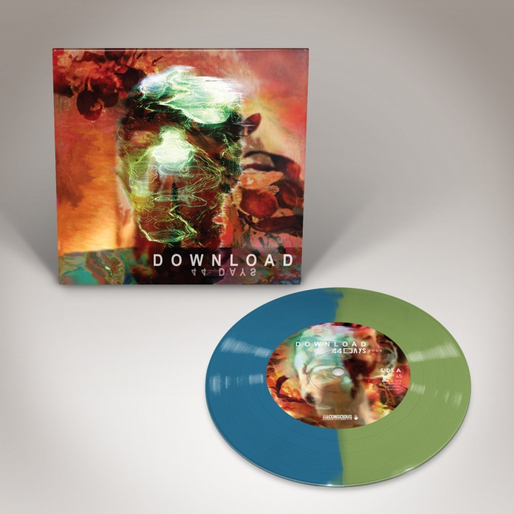 "DOWNLOAD 44 Days [limited GREEN/BLUE] 7"" VINYL 2019"