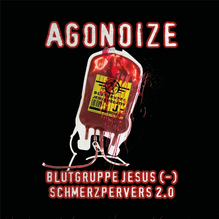 AGONOIZE Blutgruppe Jesus (-) / Schmerzpervers 2.0 LIMITED CD Digipack 2019