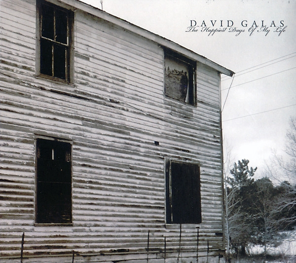 DAVID GALAS The happiest Days of my Life CD Digipack 2012