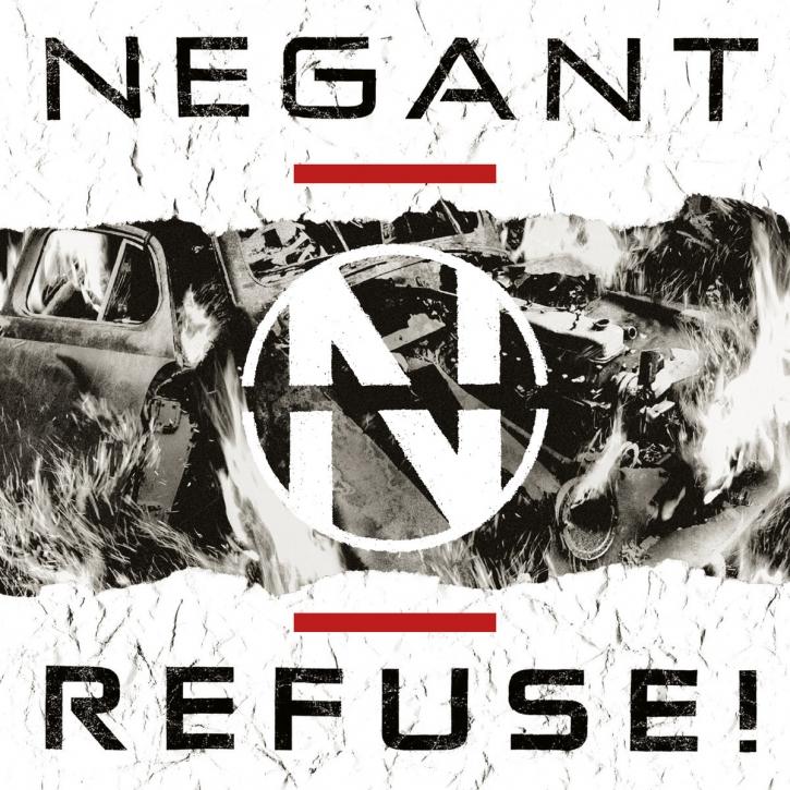 NEGANT Refuse! CD Digipack 2019 LTD.300
