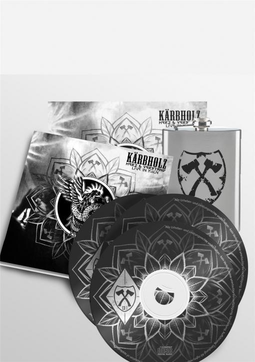 KÄRBHOLZ Herz & Verstand - Live in Köln LIMITED FANBOX 2CD+DVD 2019 (VÖ 27.09)