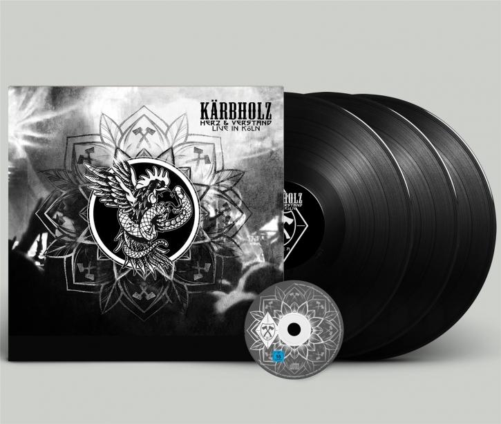 KÄRBHOLZ Herz & Verstand - Live in Köln LIMITED 3LP VINYL+DVD 2019 (VÖ 27.09)