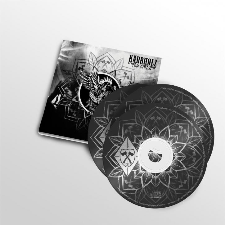 KÄRBHOLZ Herz & Verstand - Live in Köln 2CD+DVD Digipack 2019 (VÖ 27.09)