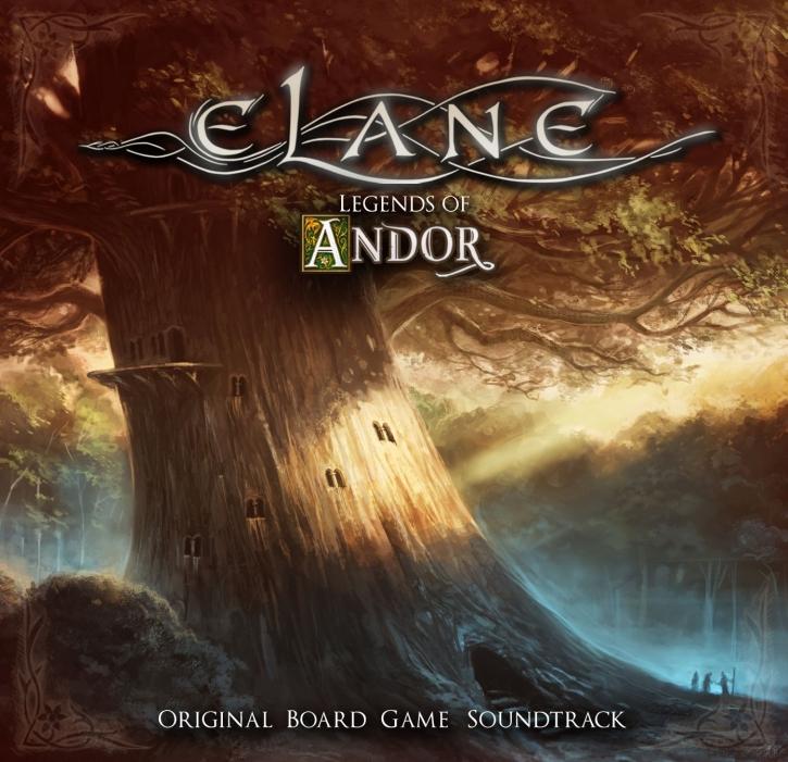 ELANE Legends Of Andor (Original Board Game Soundtrack) CD 2019 (VÖ 11.10)