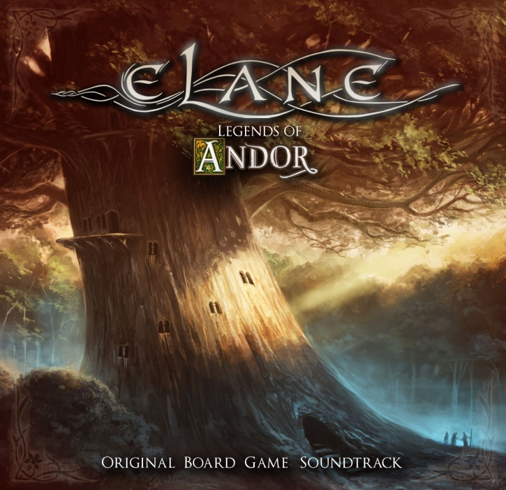ELANE Legends Of Andor (Original Board Game Soundtrack) CD 2019