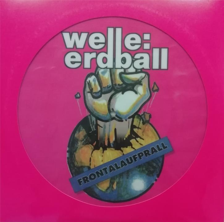WELLE ERDBALL Frontalaufprall / Alles Ist Möglich 2LP PICTURE VINYL LTD.1000
