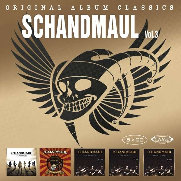 SCHANDMAUL Original Album Classics Vol.3 5CD BOX 2019