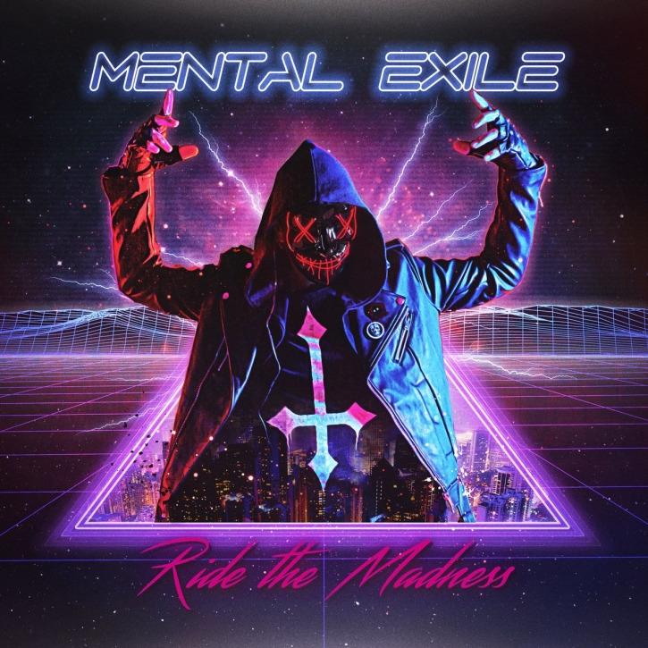 MENTAL EXILE Ride the Madness CD 2019 (MONDTRÄUME)