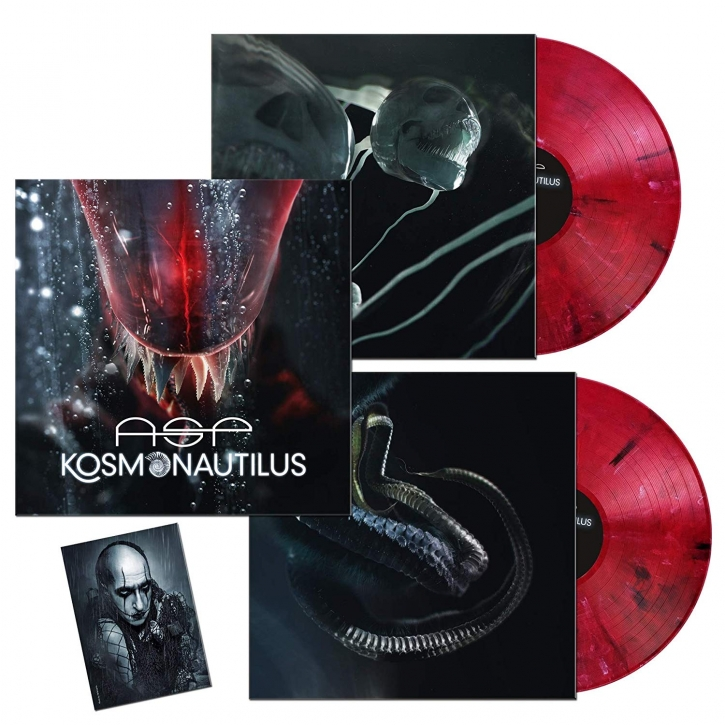 ASP Kosmonautilus 2LP RED MARBLE VINYL 2019 LTD.333