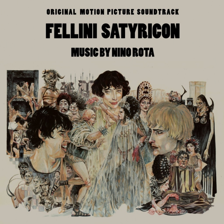 NINO ROTA Fellini Satyricon - Original Motion Picture Soundtrack CD Digipack 2016