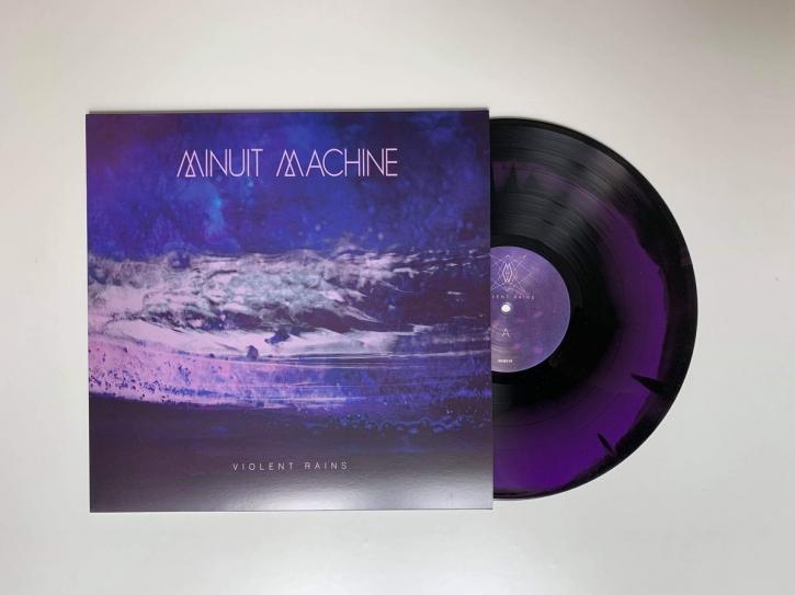 MINUIT MACHINE Violent Rains [limited BLACK & PURPLE marbled] LP VINYL 2019