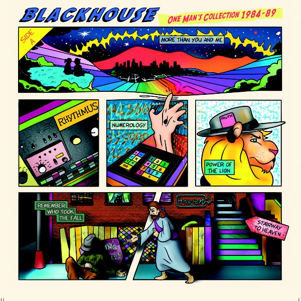 BLACKHOUSE One Man's Collection 1984-89 CD Digipack 2019