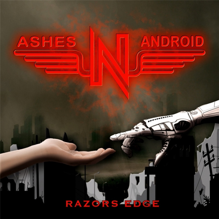 ASHES N ANDROID Razors Edge CD 2020 (VÖ 31.01)