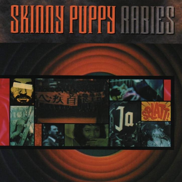 SKINNY PUPPY Rabies LP VINYL 2019