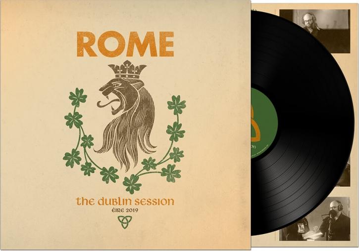 ROME The Dublin Session LP VINYL 2019 LTD.500